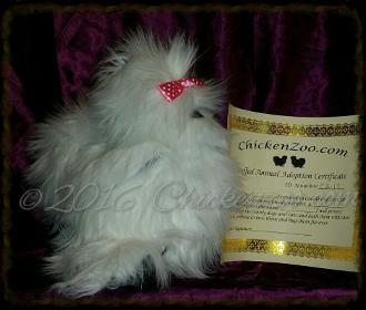 Silkie Chicken Basic Art Doll