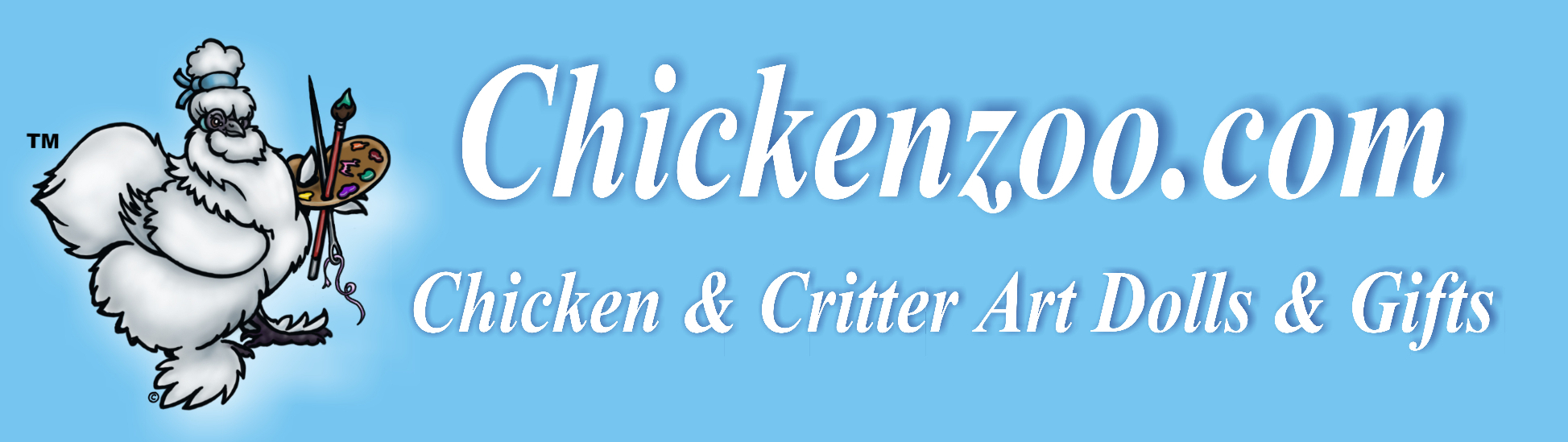 Chickenzoo, Plush Art, Decals, Gifts